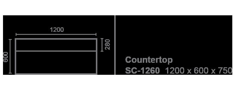 countertop sc-1260